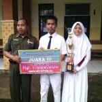 Juara III Lomba Tari Saman di Masjid Istiqlal